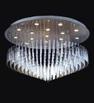 16 Light Floating Icicle Chandelier
