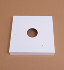 Small Square Hoist Cover Plate