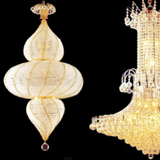 Large Chandeliers - height over 120cm