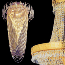 Medium Chandeliers - height of 65cm to 120cm